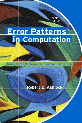 Error Patterns In Computation