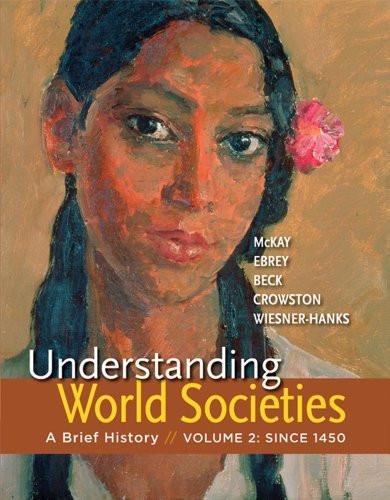 Understanding World Societies Volume 2