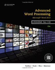 Advanced Word Processing Lessons 56-110