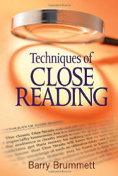 Techniques Of Close Reading