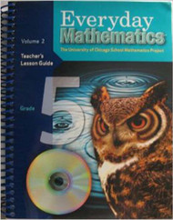 Everyday Mathematics, Grade 5: Teacher's Lesson Guide, volume 2