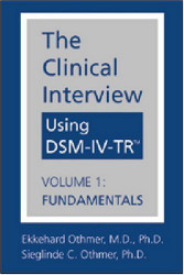 Clinical Interview Using Dsm-Iv-Tr Volume 1