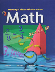 McDougal Littell Middle School Math Course 2