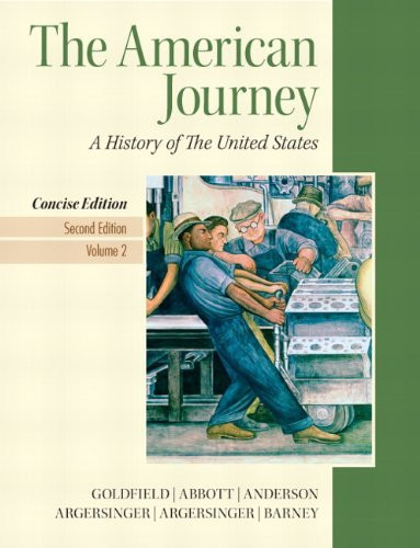American Journey Concise Volume 2