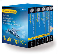 Mcitp Windows Server 2008 Enterprise Administrator Training Kit 4-Pack Exams 70-640 70-642 70-643 70-647