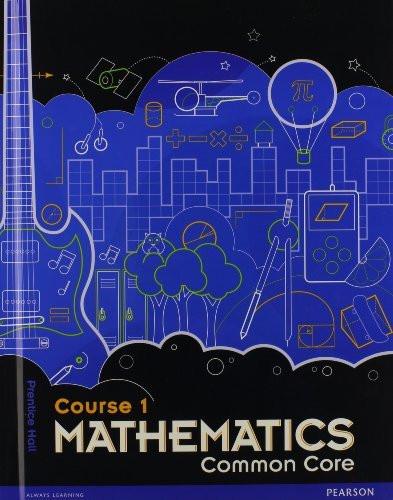 Middle Grade Math Common Core Course 1