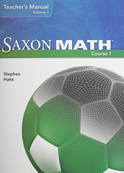 Saxon Math Course 1