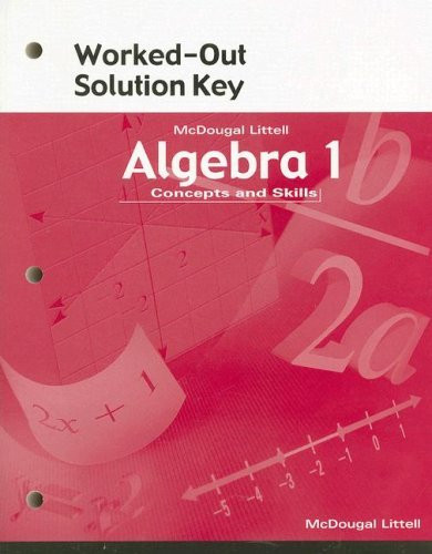 Mcdougal Littell Algebra 1