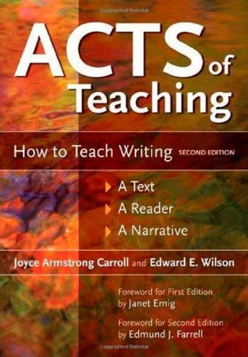 Acts Of Teaching