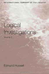 Logical Investigations Volume 2