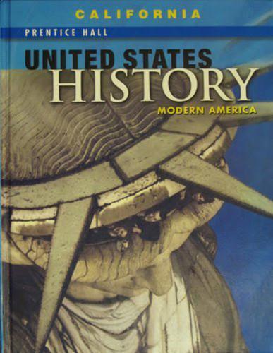 United States History - Modern America California Edition Modern America