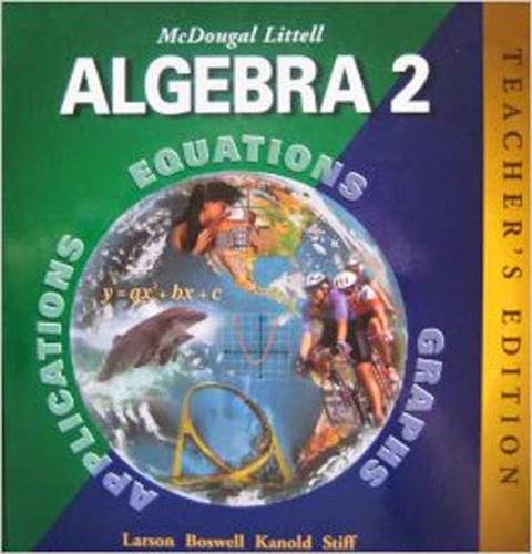 Mcdougal Littell Algebra 2 - Teacher's Edition