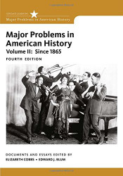Major Problems In American History Volume 2