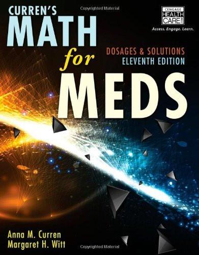 Curren's Math For Meds