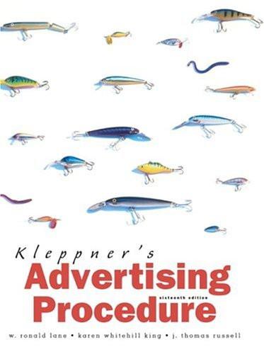 Kleppner's Advertising Procedure