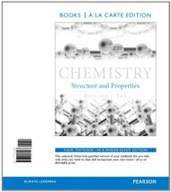 Chemistry Structure and Properties Books a la Carte Edition