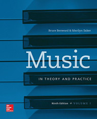 Workbook for Music In Theory And Practice Volume 1