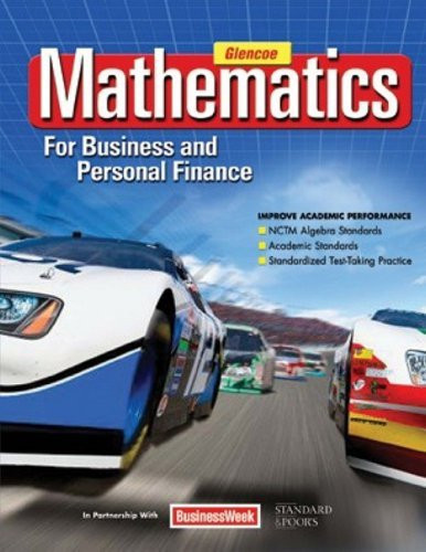 Mathematics For Business And Personal Finance