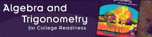 Algebra And Trigonometry For College Readiness