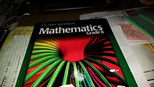 Mcdougal Mathematics Student Edition Grade 8