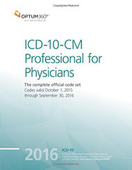 ICD-10-CM Professional for Physicians 2016