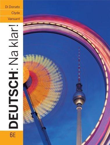 Workbook To Accompany Deutsch