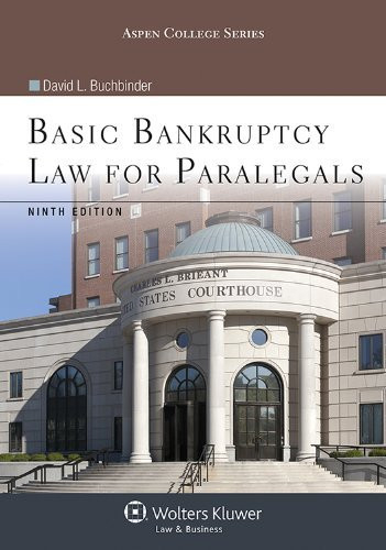 Basic Bankruptcy Law For Paralegals