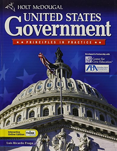 Mcdougal United States Government Principles In Practice Student Edition