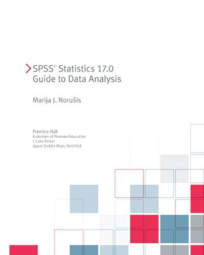 Spss 17.0 Guide To Data Analysis