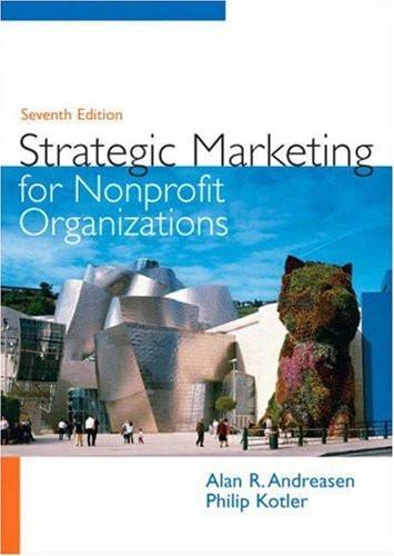 Strategic Marketing For Nonprofit Organizations
