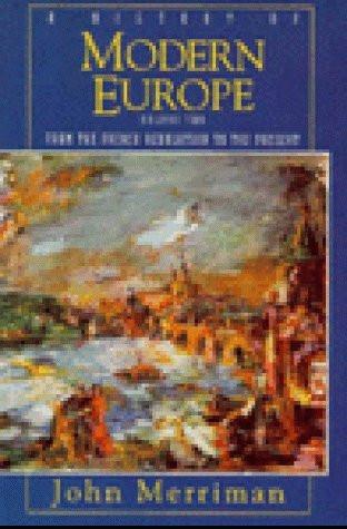 History Of Modern Europe Volume 2