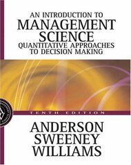Introduction to Management Science by Anderson