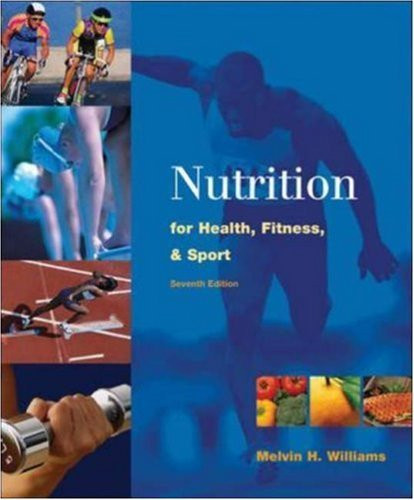 Nutrition For Health Fitness And Sport