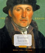 History Of Western Society Volume 1