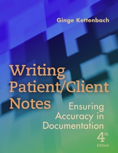 Writing Patient Client Notes