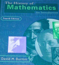 The History Of Mathematics by David M Burton