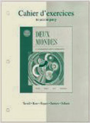 Workbook / Lab Manual To Accompany Deux Mondes