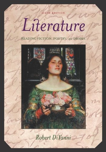 Literature Reading Fiction Poetry Drama