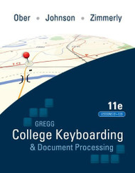 Gregg College Keyboarding And Document Processing Lessons 61-120
