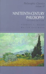 Philosophic Classics Volume 4 Nineteenth Century Philosophy