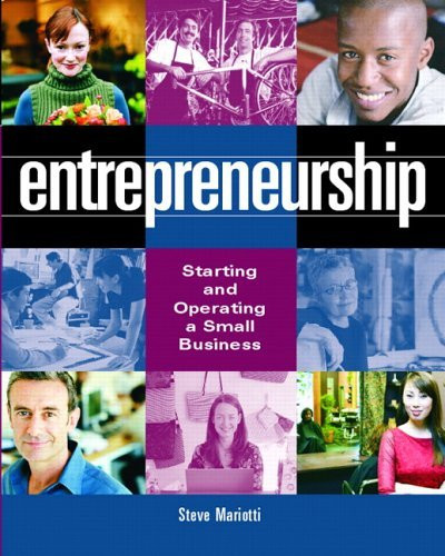 Entrepreneurship Starting And Operating A Small Business