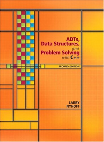 Adts Data Structures And Problem Solving With C++