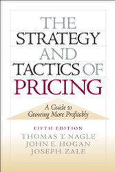 Strategy And Tactics Of Pricing