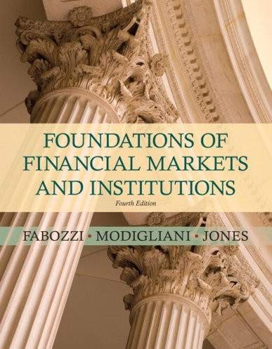 Capital Markets Institutions Instruments & Risk Management