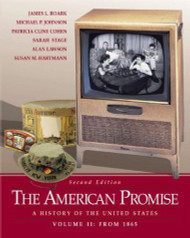 American Promise Volume 2 From 1865