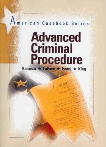 Advanced Criminal Procedure