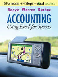 Accounting Using Excel For Success