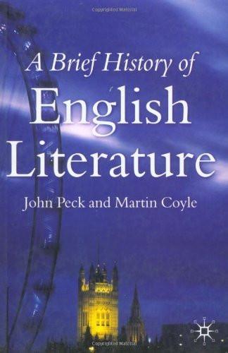 Brief History Of English Literature