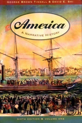 America A Narrative History Volume 1
