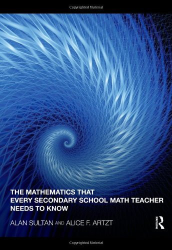 Mathematics That Everyary School Math Teacher Needs to Know